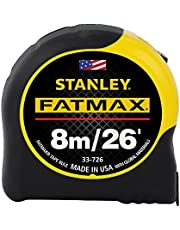STANLEY 33-726 8m/26-Feet by 1-1/4-Inch FatMax Metric/Fractional Tape Rule