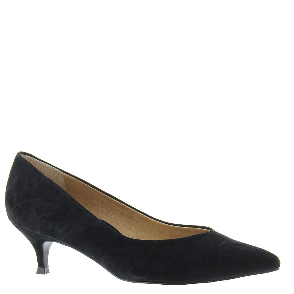 Black Suede Vionic Womens 389 Kit Josie Leather shoes
