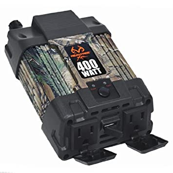 Custom Accessories Realtree Xtra 10013 400W Dual Inverter