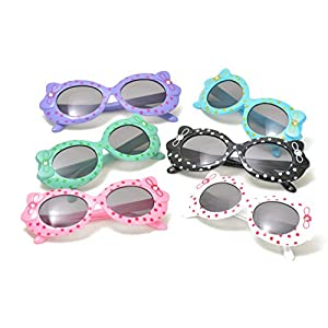 Hello Kitty Style Kids Sunglasses with Ribbon in Assorted Color
