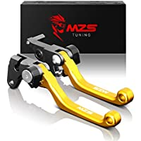 MZS CNC Pivot Brake Clutch Levers for Suzuki RM125 RM250...