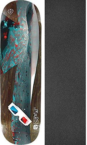 塩苛性ドームAlien Workshop Embrace Marsスケートボードデッキ – 8.5