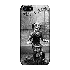 For PrA822KeHm Saw Clown Protective Cases Covers Skin/iphone 5/5s Cases Covers