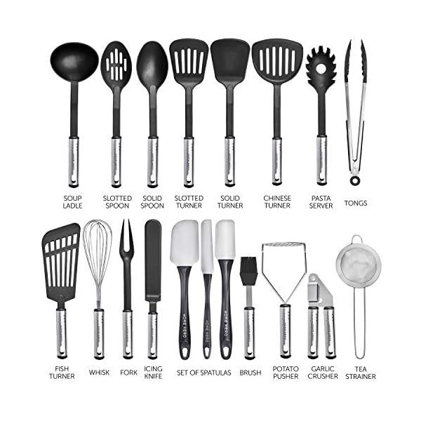 Home Hero Kitchen Utensil Set Cooking Utensils Set - Nylon Kitchen Utensils Set Kitchen Tool Set 44 Pcs. Cooking Utensil… 3