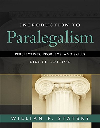 Introduction to Paralegalism: Perspectives, Problems and Skills (MindTap Course List)