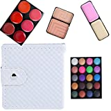 OVERMAL 32 Color Cosmetic Matte Eyeshadow Cream Eye Shadow Makeup Palette Shimmer Set (Gray)