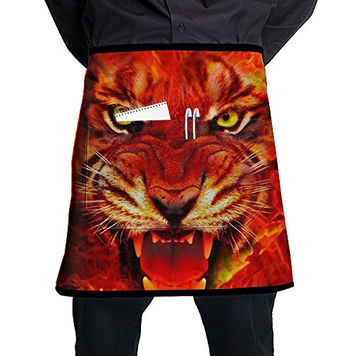 Jaylon Waist Short Apron Half Chef Apron Wallpapers-HD-fire-king-images-pictures-background-images-mac-pc-1920x1080 Cooking Apron With Pockets Home Kitchen Cooking Pinafore ()