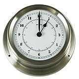 Fischer Instruments 1508U-01 5 Stainless Steel Quartz Clock by Fischer Instruments