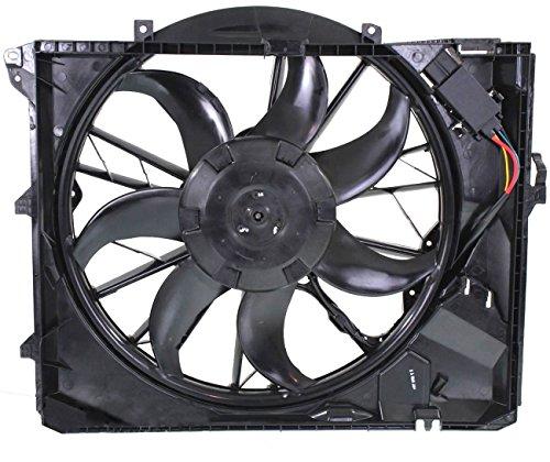 (TOPAZ 17427562080 Radiator Cooling Fan Assembly for BMW E87 E90 128i 323i 325i 328i 330i)