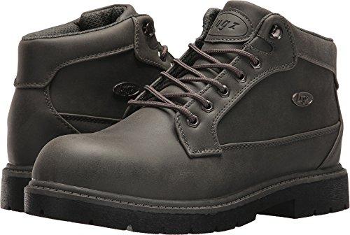 Lugz Mens Mantle Mid Chukka Boots (10.5 D US, Asphalt/Dark Asphalt/Black)