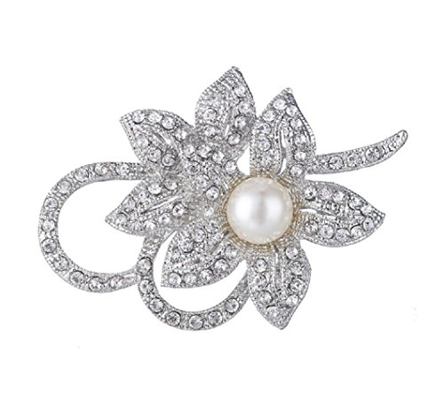 - Daisy Jewelry Cheap Vintage Orchid Flower Brooches Women's Crystal Classy Fancy Brooch and Pins