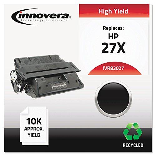 INNOVERA 83027 High-Yield Toner Cartridge for hp Laserjet 4000, 4050 Series, Black, remanufactu