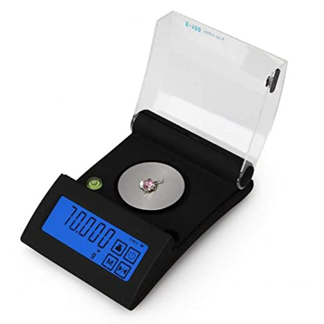 CHENG Básculas Digitales Básculas Multifuncionales De Alta Precisión con Pantalla LCD Retroiluminada Básculas Alimentarias De Bolsillo