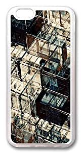 ACESR Glass Boxes Cute iPhone 6 Cases, TPU Case for Apple iPhone 6 (4.7inch) Transparent