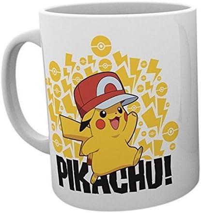 GB Eye LTD, Pokemon, Ash Hat Pikachu, Taza: Amazon.es: Hogar