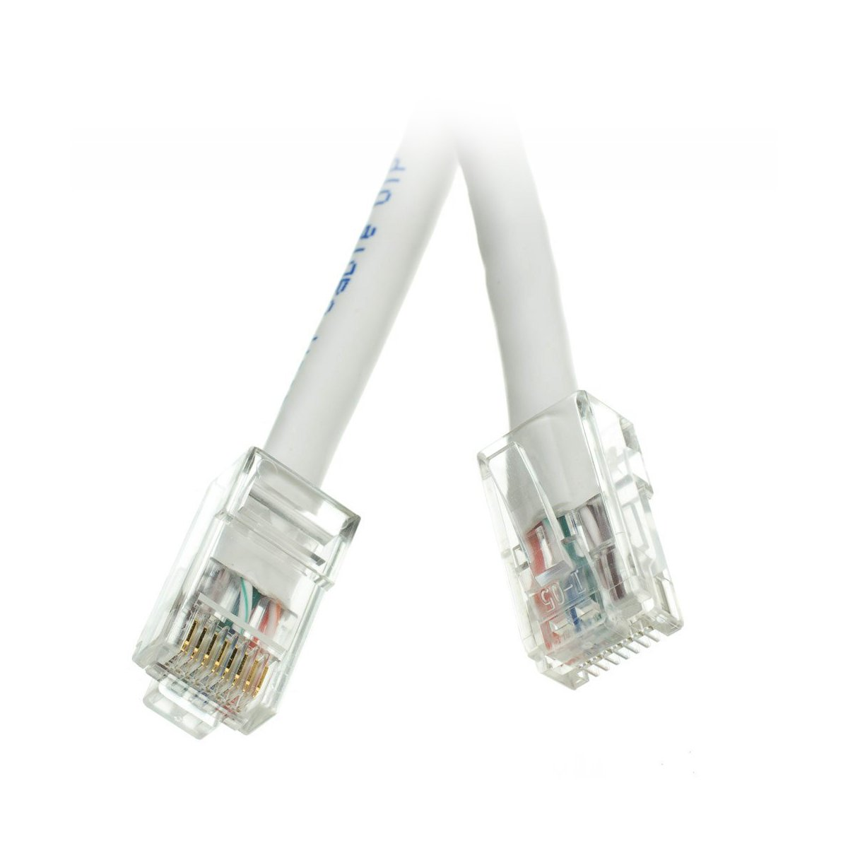 Ce Cat5e 350mhz 1 Feet Utp Bootless Cable Red Cables Ethernet Patch Snagless Molded Boot 7 Foot Cne69333 Computers Accessories