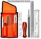 8 Piece Chainsaw Sharpener File Kit - Contains 5/32, 3/16, & 7/32...