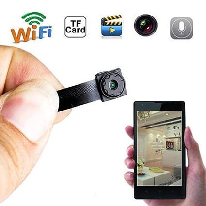 720P HD Mini cámara inalámbrica WiFi IP Cámara espía módulo Oculto DIY Detección de Movimiento de