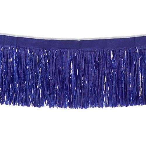 Beistle 55285-B 6-Ply Tissue Fringe Drape, 15 by 10-Feet ()