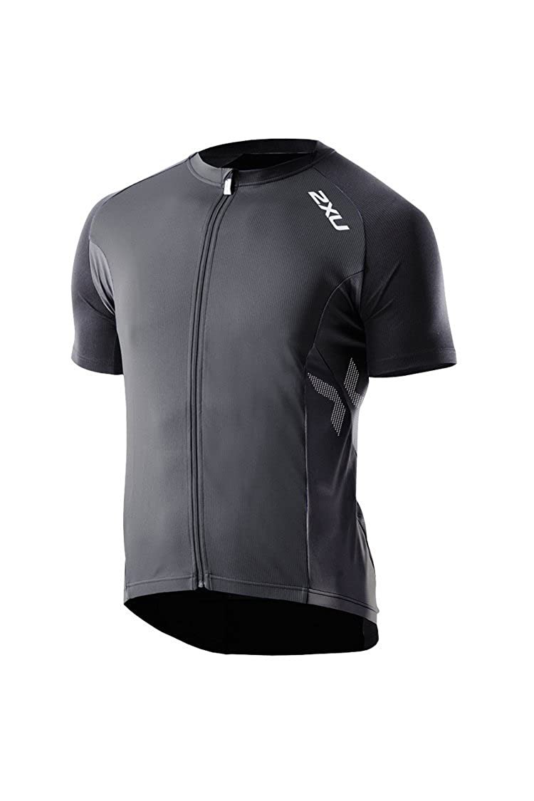 468cc2a8d Amazon.com   2XU Men s Road Comp Cycle Jersey   Black Triathlon Jersey    Clothing