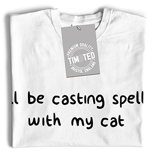 And Casting White Tim Ted My Long Cat with I'll Spells Halloween Be Sleeve fxwd0wq7p