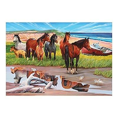Cobblehill 50701 2000 Pc Sable Island Puzzle Vari