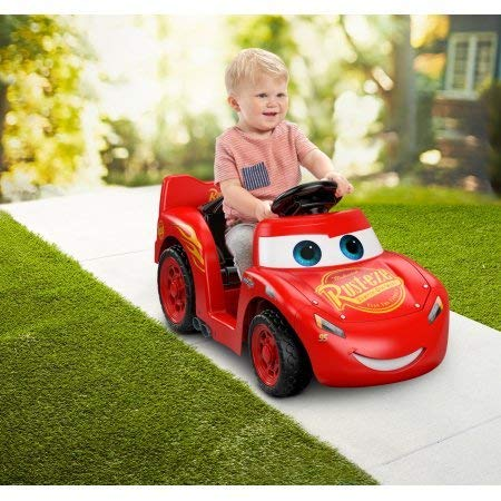 Power Wheels Disney Cars Lil Lightning McQueen Electric By -