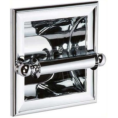 Ginger 4528/PC Columnar Recessed Toilet Tissue Holder, Polished Chrome by Ginger