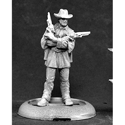 Jeb Lawson Western Outlaw Chronoscope Miniature Figures by Reaper Miniatures: Toys & Games