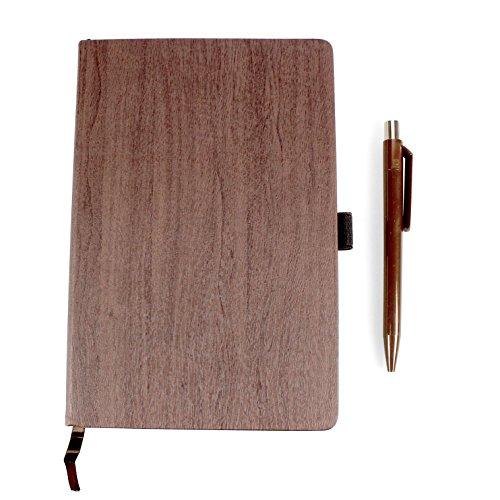Styletec Carnet Ecriture Livre Couverture Rigide Look Wood