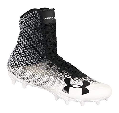 Under Armour Men's UA Highlight Select MC Football Cleats 10 M US Black White