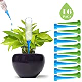 DCZTELG Plant Self-Watering spikes-Automatic Stakes-Vacation Watering Device- Self-Irrigation Watering System-Care for Indoor Outdoor Office Flowers(16-Pack