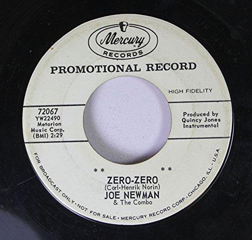 Joe Newman & The Combo 45 RPM Zero-Zero / In A Little Spanish Town