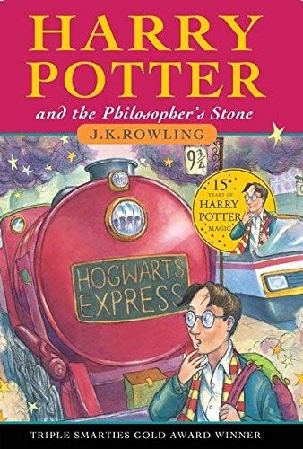 By J.K Rowling Harry Potter and the Philosophers Stone Book 1 ...