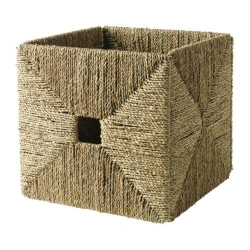 Ikea Basket, seagrass (Grass Ikea)