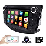 Cheap hizpo in Dash Car DVD Player GPS Navigation Radio BT Stereo for Toyota RAV4 2006-2012 Reverse Camera