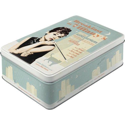 Nostalgic-Art 30713 - Caja decorativa metálica, 23 x 16 x 7cm, diseño