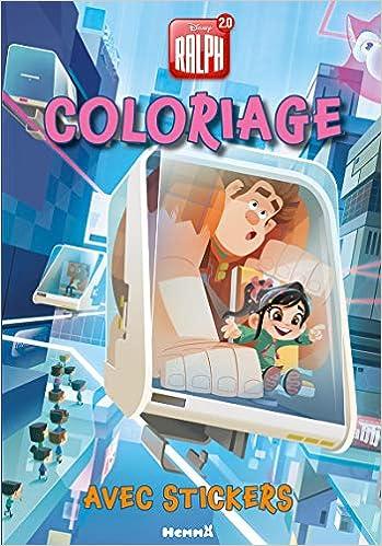 Coloriage Disney Ralph.Amazon In Buy Disney Ralph 2 0 Coloriage Avec Stickers Book Online