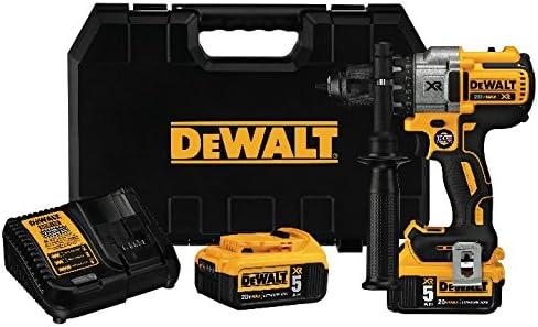 with DEWALT DWA2T40IR IMPACT READY FlexTorq Screw Driving Set DCD991P2 DEWALT 20V MAX XR Brushless Drill//Driver 3-Speed Premium 5.0Ah Kit 40-Piece