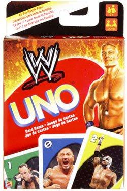 Mattel - WWE Wrestling jeu de cartes UNO by Mattel