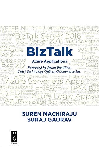 Amazon.com: BizTalk: Azure Applications eBook: Suren Machiraju ...