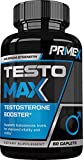 TEST:FORCE - 100% Natural Maximum Strength & Potent Testosterone Booster For Men - Supercharges Vitality, Muscle Mass & Powerful Energy Booster - Full 30-Day Cycle by Zeo Nutrition