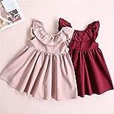 Niyage Toddler Baby Girls Cotton Tunic Dress Swing