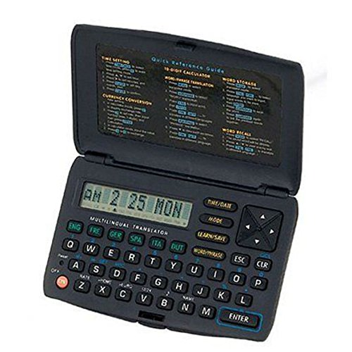 Electronic Handheld Multi 6 language Translator English Spanish French Italian by Unbranded*