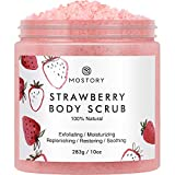Sweet Strawberry Exfoliating Body Scrub - Organic