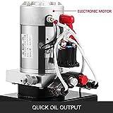 Mophorn Hydraulic Power Unit 8 Quart Pump Double
