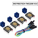 BIGTREETECH TMC2208 V3.0 UART Mode Stepper Motor Driver 3D Printer Parts (4 PCS)