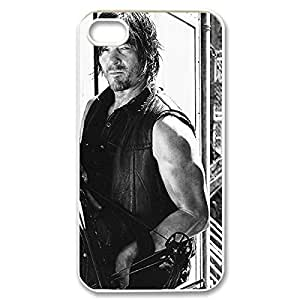 Diy iPhone 6 plus Fancy The Walking Dead Daryl Dixon Lightweight Printed procedures Hard Plastic case fact Snap-on The babys Walking Dead cover for iphone Dont 4 6 plus 4g- White 022702