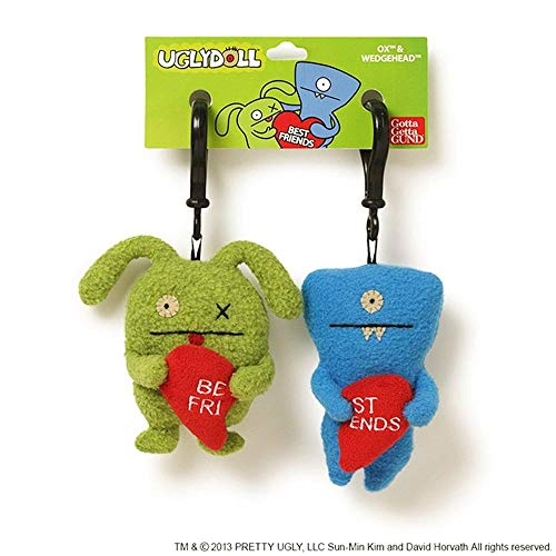 "Uglydoll Ugly Valentines BFF Clips 5.1"" Plush for sale  Delivered anywhere in USA"