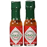 "TABASCO brand Pepper Sauce ""10-pack Miniatures"" 1/8oz."